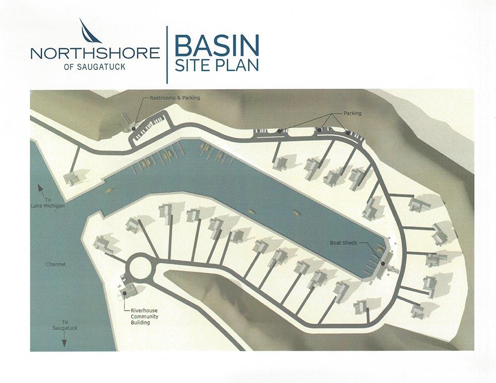 Northshore of Saugatuck Basin Plan