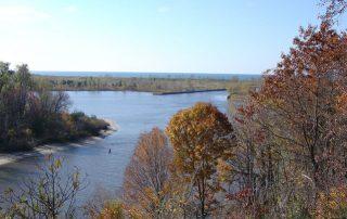 Kalamazoo River to Lake Michigan